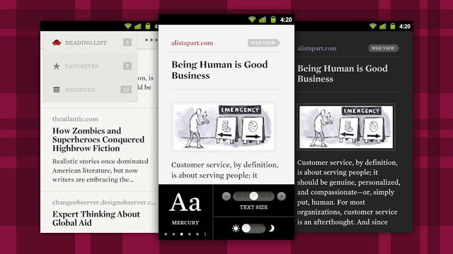 Readability Now Available on Android; Saves Articles for Later Sans Formatting