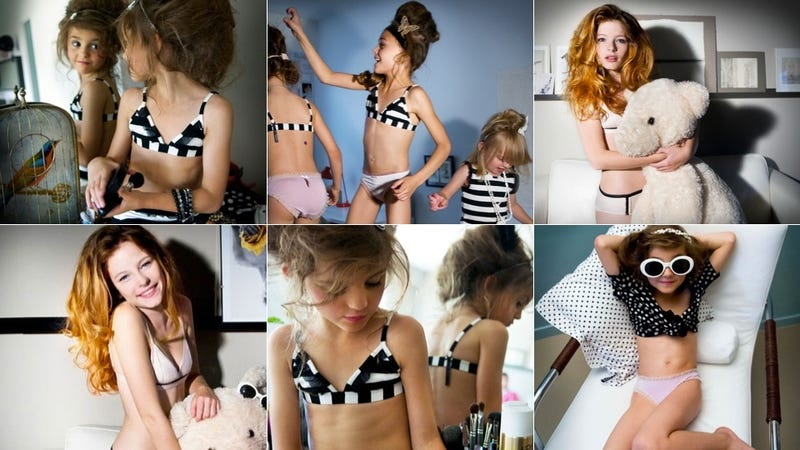French Brand Markets Lingerie For Little Girls With Requisite Over-Sexualized Images