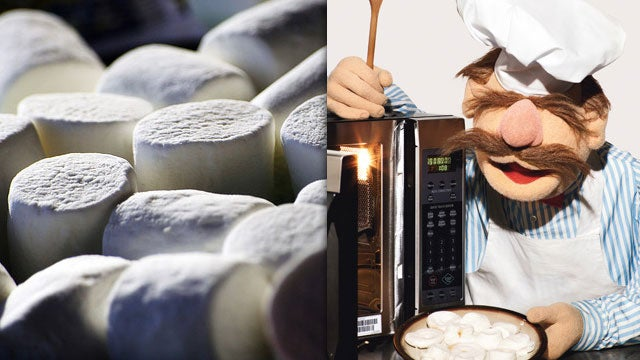Nuke a Plate of Marshmallows to Find Your Microwave's Best Reheating Hot Spots