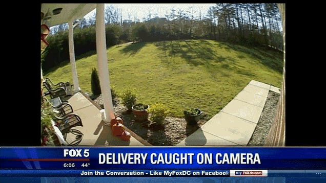 Delivery Man Fired After Camera Catches Him Flinging Package