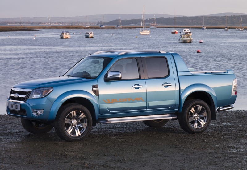 2010 Ford Ranger: Europe Gets All The Good Stuff