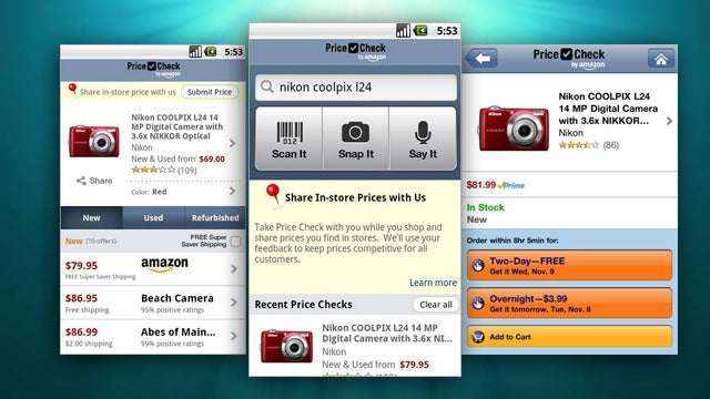 Most Popular Price Comparison App: Amazon Price Check