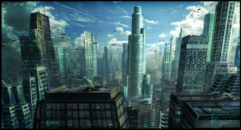 Could self-aware cities be the first forms of artificial intelligence?