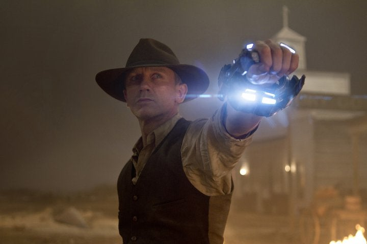 """Cowboys and Aliens"" is the best thing you'll see next summer"