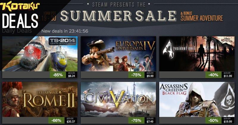 Steam Summer Sale Day 8, Dark Souls II, Final Fantasy, The Boondocks