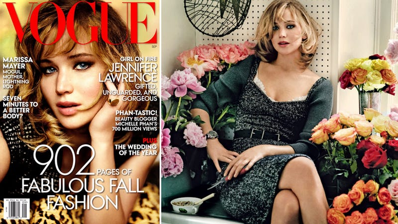 The 8 Vogue-iest Quotes from Jennifer Lawrence's Vogue Interview