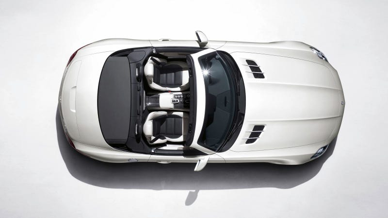 Here's the officially roofless Mercedes-Benz SLS AMG Roadster