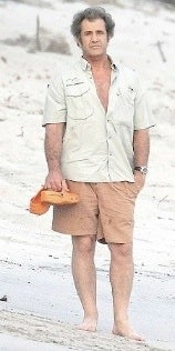 Sad Mel Gibson Wondering if He Picked the Wrong Oksana