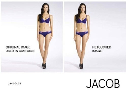 Canadian Clothing Retailer Bans Retouching