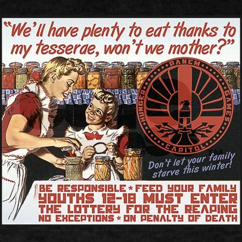 Good children risk death to feed their families in Hunger Games propaganda