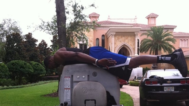 With NBA Lockout Looming, Gilbert Arenas And Dwight Howard Start Planking