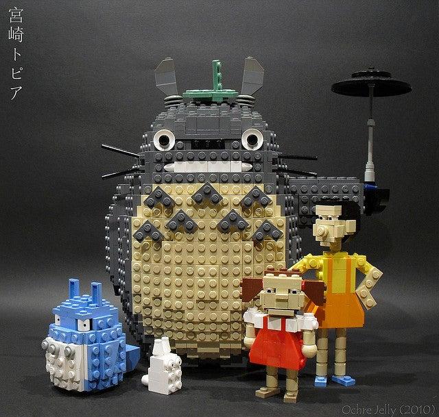 The films of Hayao Miyazaki à la Lego