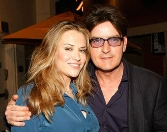 Charlie Sheen and Wife Battle to See Who Can Do Rehab Better