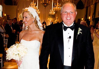 Rush Limbaugh's Big, Fat, Gay Fourth Wedding