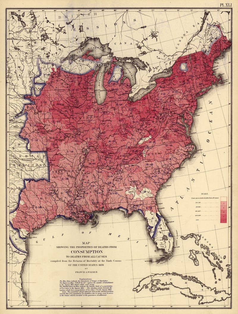 Beautiful, hi-res census maps provide fascinating snapshots of 1870s America