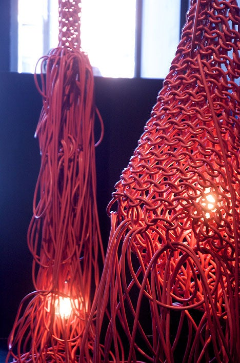 Tangled Wires are Ugly, But What About Tangled Wire Lamps?