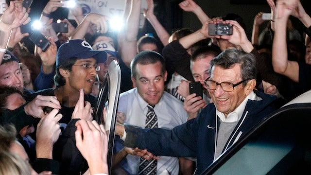 Whatever They Want To Say: How Media Outlets Handled Joe Paterno's Weird Quote Last Night