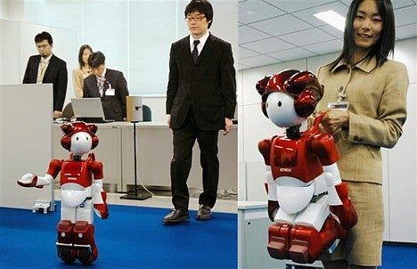 Launch of Hitachi's EMIEW 2 Robot Goes a Bit Awry