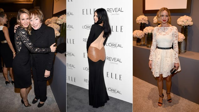 All Black, All White, All Night at Elle's Women in Hollywood Awards