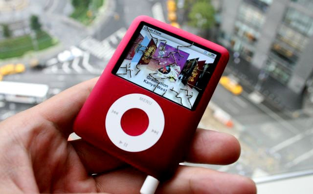 iPod Nano Mostly Survives Horrible Torture