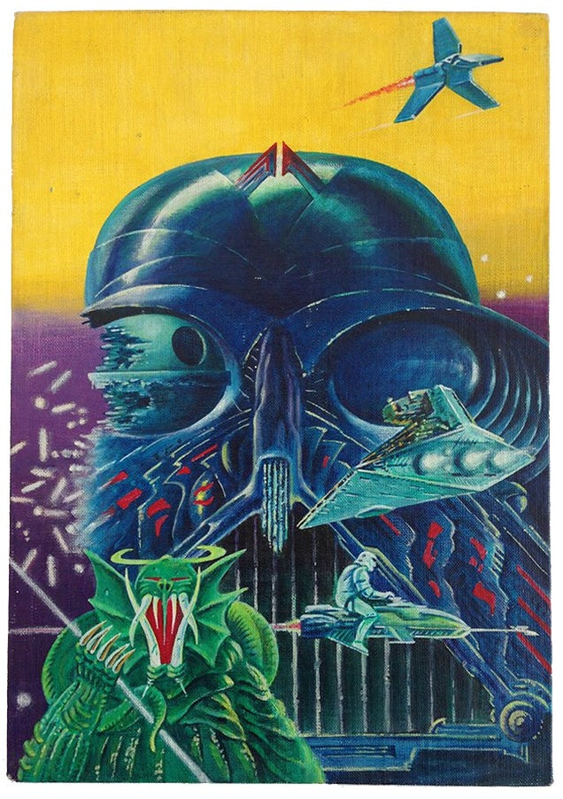 Here's Your Chance To Own This Legendarily Weird Star Wars Poster Art