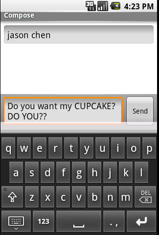 "Screenshot Tour: Taking Android's ""Cupcake"" 1.5 Update For An Early Spin"