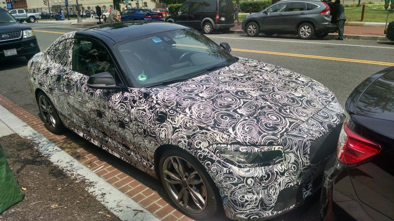 What Is This Mysterious BMW 2-Series Prototype Doing In Washington D.C.?