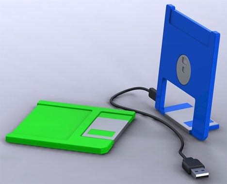 USB Floppy Drive Concept: Oregon Trail Not Included