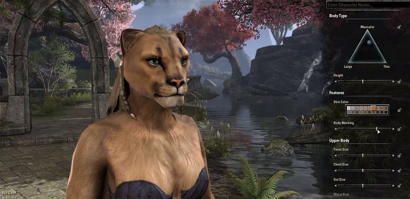 How We'll Create The Prettiest Elder Scrolls Characters Ever