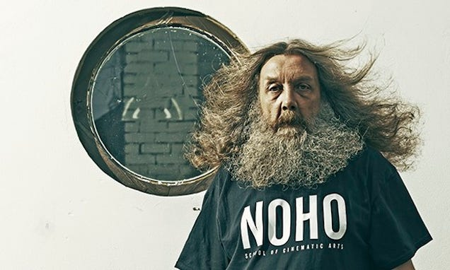 Alan Moore Just Wrote A Novel So Enormous People Can't Pick It Up