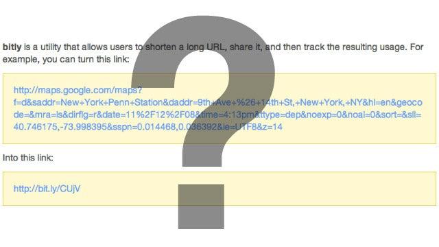 Do You Ever Use URL Shorteners?