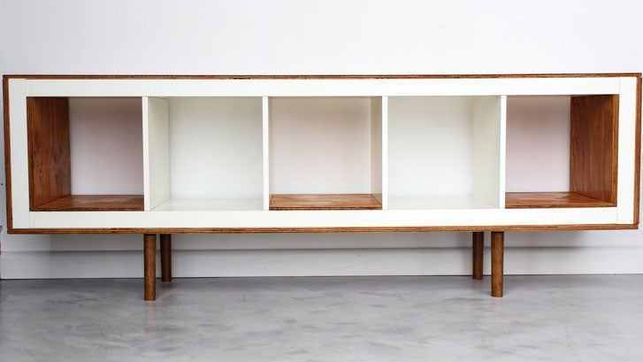 Turn an IKEA Bookshelf into a Beautiful Storage Table