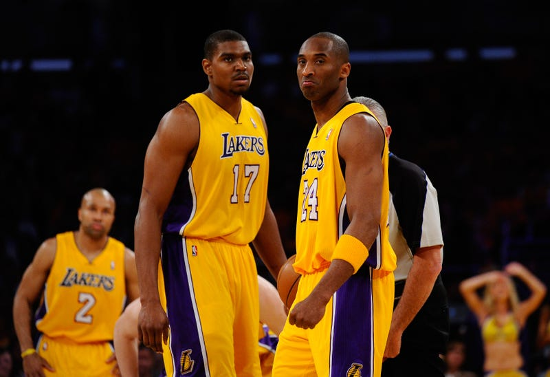 "Andrew Bynum On Kobe: ""You're Always Having Issues With Him If You're Playing Poorly"""