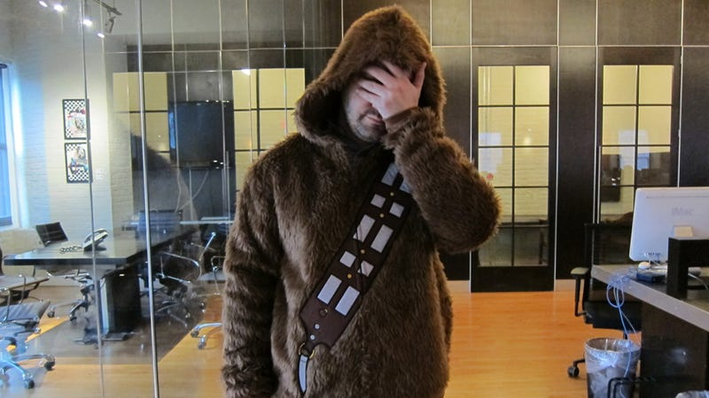 Uhh, Did Anyone Else Get Drunk and Buy a Wookiee Hoodie?
