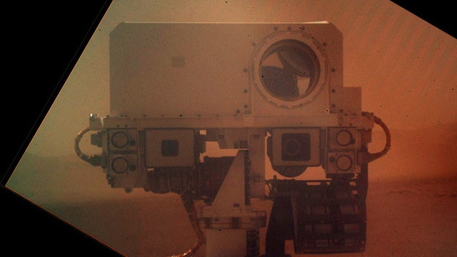 Curiosity Sends Home a Self-Shot That's Out of This World