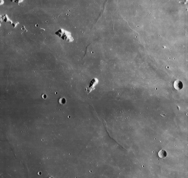 The Seven Wonders of the Moon