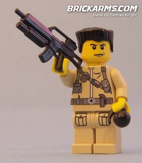 LEGO Arms Dealer Sells Everything from AK47 to Uzi