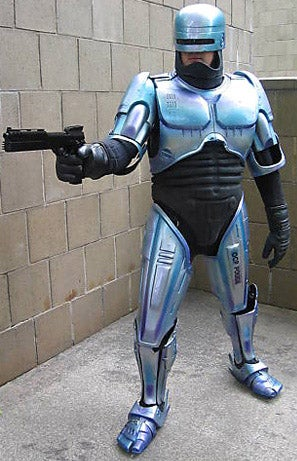 Buy Robocop's Suit to Kiss Some Shiny Metal Ass