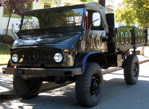 You Wish Your Pinzgauer Could Do This: Unimog!