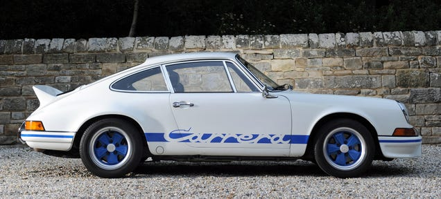 Good Lord: Porsche Carrera RS Prices Have Skyrocketed Nearly 700 Percent