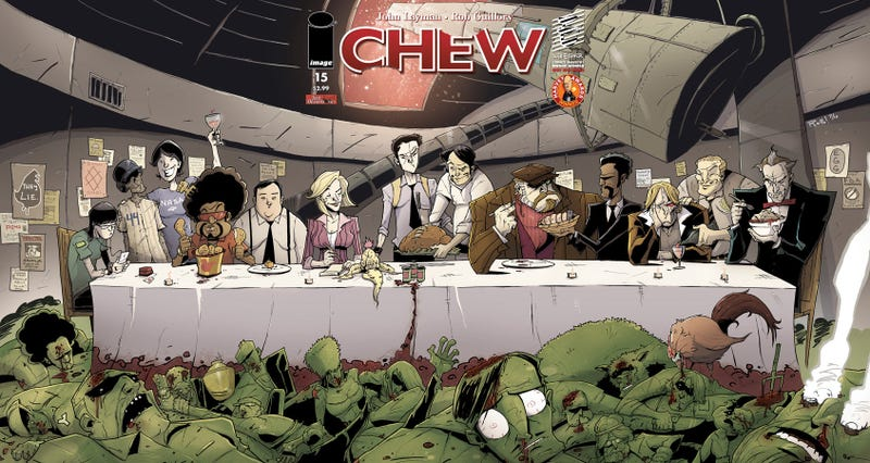 Chew's psychic cannibal FDA agent could be headed for television