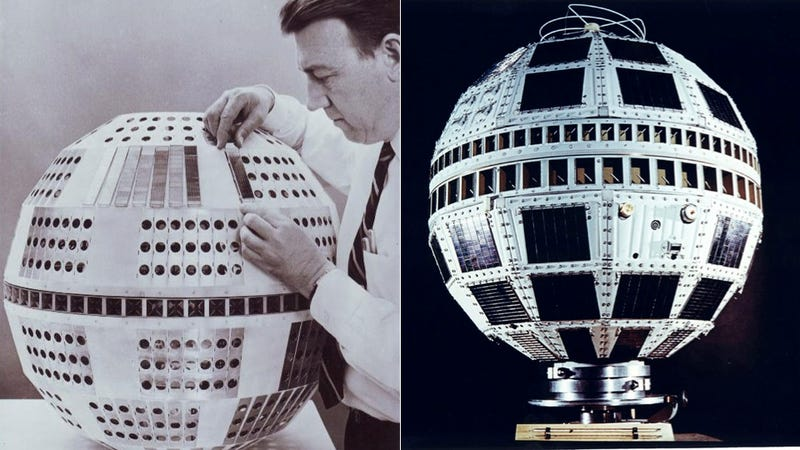 The First Television and Telephone Satellite Launched 50 Years Ago