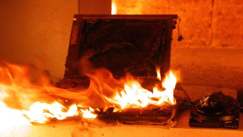 14 Reasons to Keep Your Gadgets Away from Open Flame