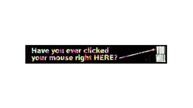 This Was the First Banner Ad on the Internet