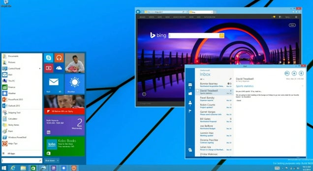 Microsoft Is Bringing the Start Menu Back to Windows 8