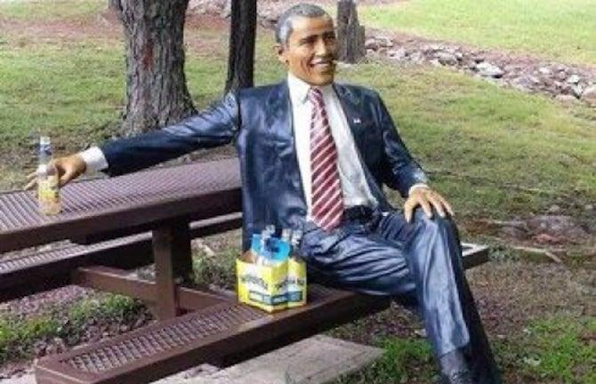 Life-Sized Barack Obama Statue Returned Safely to Pennsylvania Owner