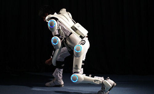 HAL Robo-Suit Exoskeleton Hits the Streets of Tokyo