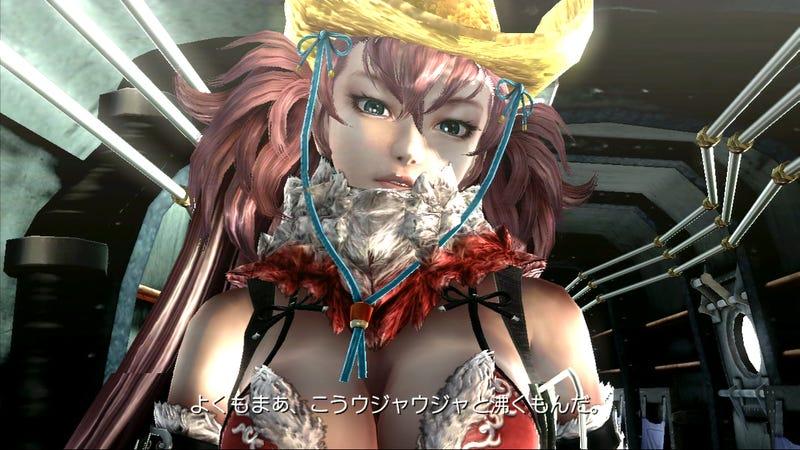She's Got a Bikini and a Cowboy Hat. We've Got Screens.