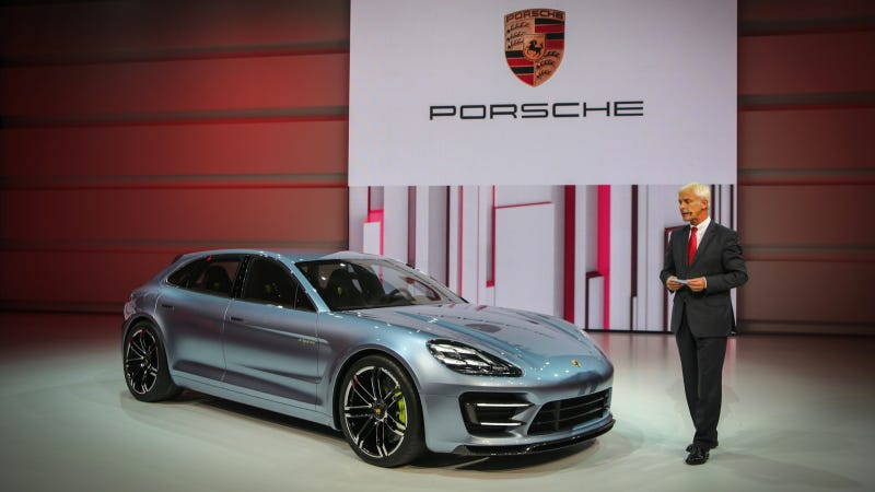 Porsche Panamera Sport Turismo: First Ultra Super Sexy Live Shots
