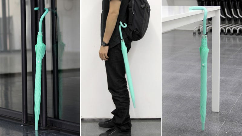 A Strong Case For an Umbrella With a Bendable Handle